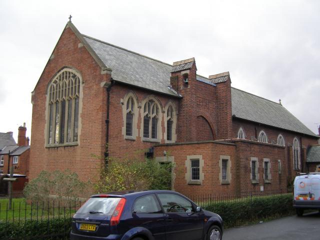 Church of St Mary, Johnstown, Wrexham Johnstown_PB080111.JPG Photo © Peter Jones