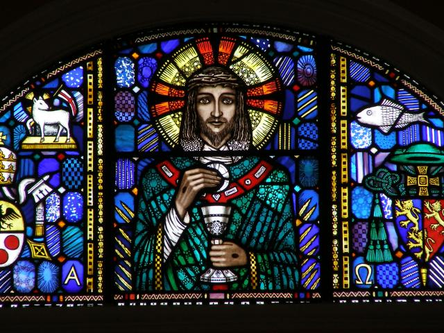 Christ with Chalice and Host
