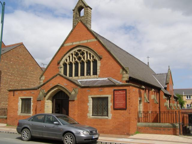 Church of the Blessed Sacrament, Connah's Quay, Flintshire P5021410.JPG Photo © Peter Jones