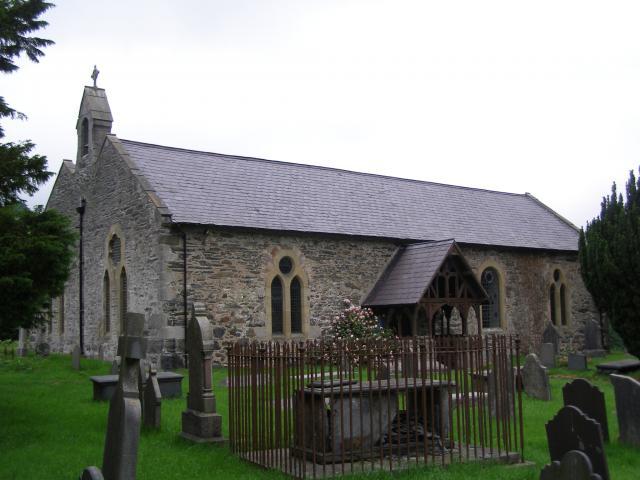 Church of St Sannan, Llansannan, Conwy P6160392.JPG Photo © Peter Jones