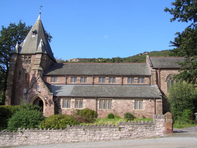 Church of All Saints, Deganwy, Conwy P9130038.JPG Photo © Peter Jones