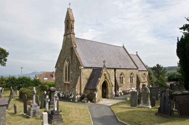 Church of St Cynwyl, Aberporth, Ceredigion Aberporth_DSC9716.jpg Photo © Martin Crampin