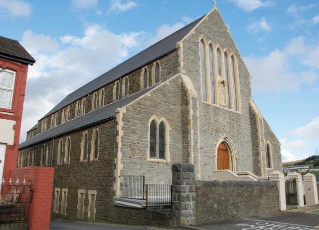 Church of All Saints, Ebbw Vale, Blaenau Gwent EbbwValeAllSaints_DSC8237A.jpg Photo © Martin Crampin