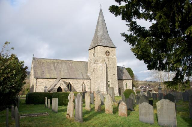 Church of St Thomas, Penybontfawr, Powys Penybontfawr_DSC9110A.jpg Photo © Martin Crampin
