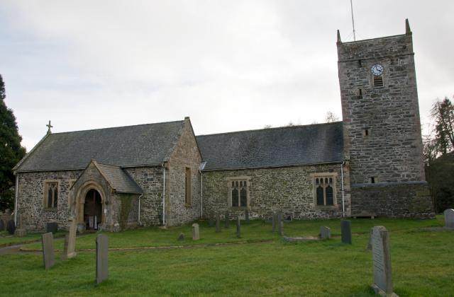 Church of St Dogfan, Llanrhaeadr-ym-Mochnant, Powys Llanrhaeadr-ym-Mochnant_DSC9107A.jpg Photo © Martin Crampin