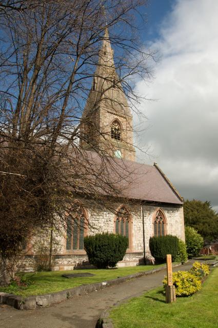 Church of St Peter and St Meugan, Ruthin, Denbighshire Ruthin_DSC9797A.jpg Photo © Martin Crampin