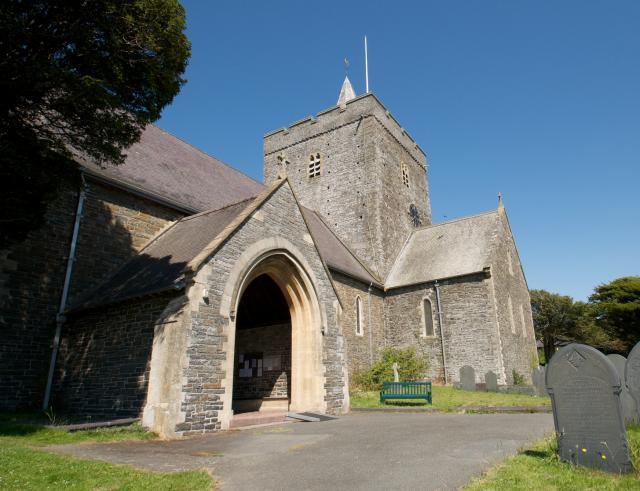 Church of St Padarn, Llanbadarn Fawr, Ceredigion Llanbadarn_DSC4925A.jpg Photo © Martin Crampin