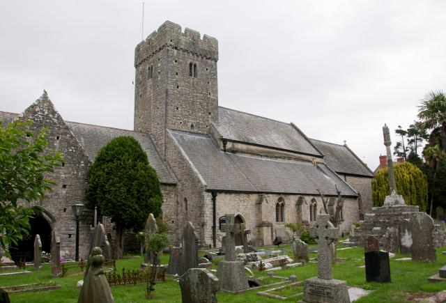 Church of St Illtyd, Llantwit Major, Vale of Glamorgan Llanilltyd_DSC9189.jpg Photo © Martin Crampin