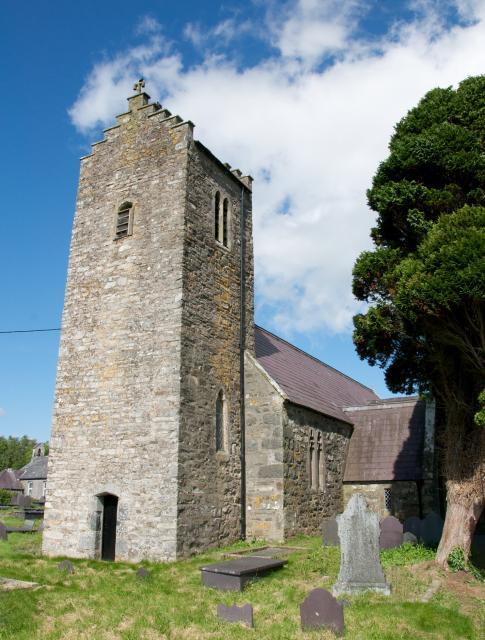 Church of the Holy Cross, Llannor, Gwynedd Llannor_DSC0526B.jpg Photo © Martin Crampin
