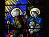 Donors: Christ in Majesty with Saints and Angels