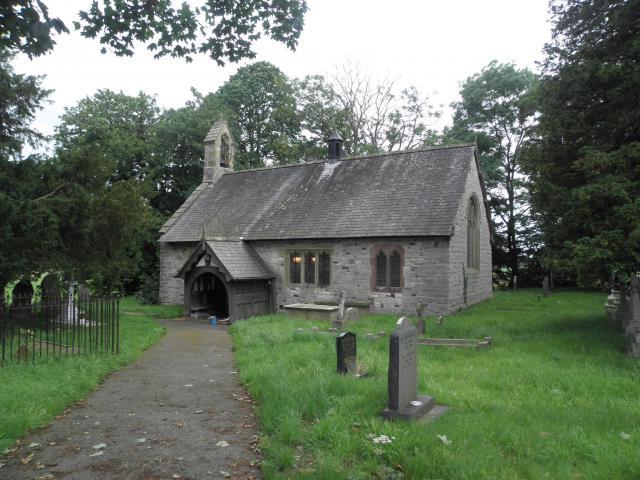Church of St Hychan, Llanychan, Denbighshire P7071291.JPG Photo © Peter Jones