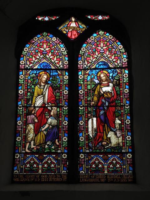 Christ Blessing Children and Christ the Good Shepherd