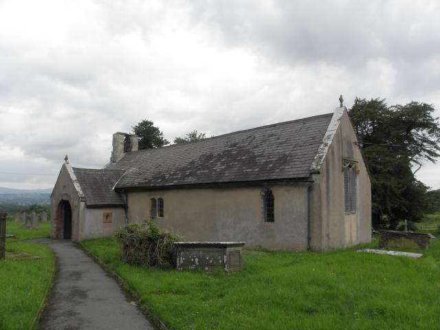 Church of St Cwyfan, Llangwyfan, Denbighshire P7071225.JPG Photo © Peter Jones