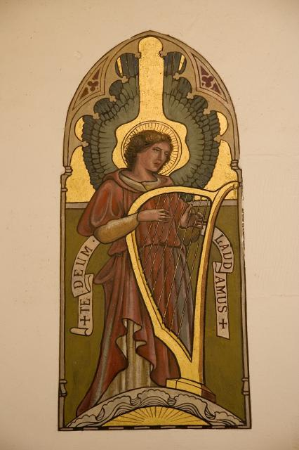 Angels Playing Harps