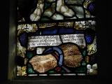 Lower Panel with Wheatsheaf and Dedication: The Sower Soweth the Word