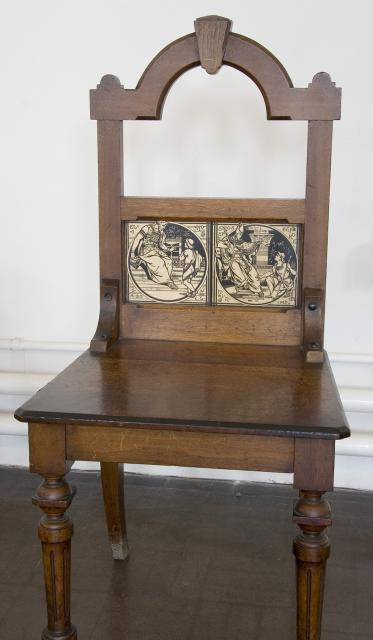 Full view of the chair    from    Samuel Before Eli and Joseph Before Pharaoh