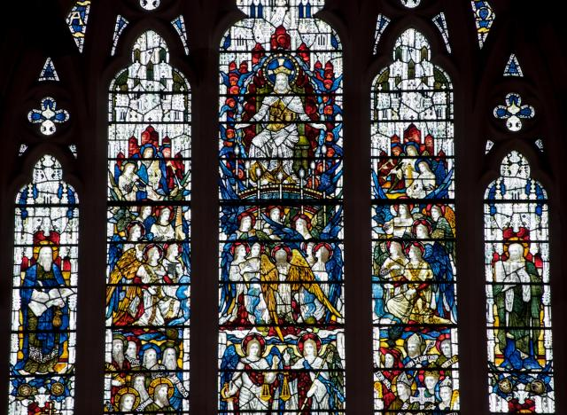 Christ in Majesty with Saints and Angels