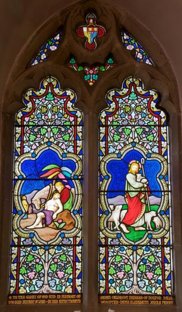 The Good Samaritan and Christ the Good Shepherd