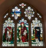 St George and St David with the Crown of Life