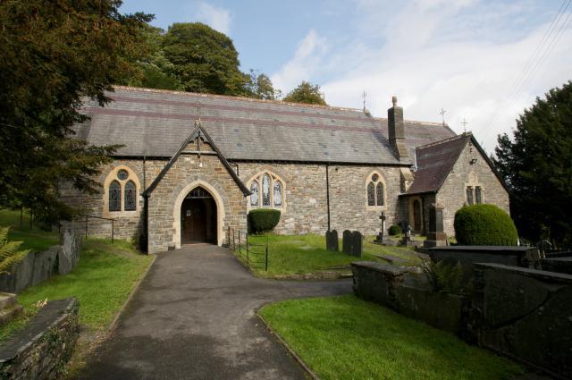 Church of St Michael, Llandre, Ceredigion Llandre_DSC7298A.jpg Photo © Martin Crampin