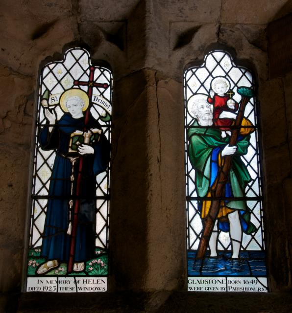 St Deiniol and St Christopher
