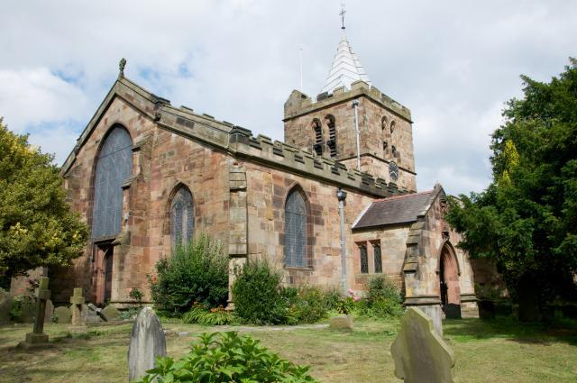 Church of St Deiniol, Hawarden, Flintshire Hawarden_DSC1171B.jpg Photo © Martin Crampin