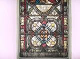 Decorative Panel and Dedication: The Good Samaritan