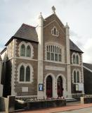 Exterior of Skewen Methodist Church: Decorative Windows