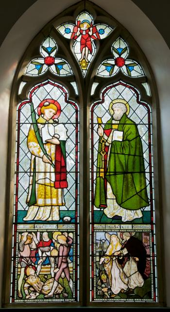 St Stephen and St Peter
