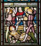 The Stoning of Stephen: St Stephen and St Peter