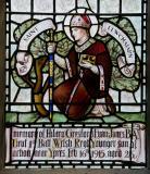 St Llwchaiarn: St Gabriel and St Michael