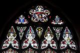 Tracery Lights: Welsh Saints with Scenes from the Life of St Elfan