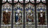 St Illtud, St Elfan, St David and St Gildas: Welsh Saints with Scenes from the Life of St Elfan