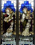 King David and St Cecilia