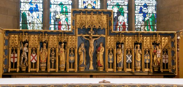 The Crucifixion with Saints
