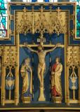The Crucifixion with the Virgin Mary and St John: The Crucifixion with Saints