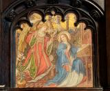 The Annunciation: Lady Chapel Reredos