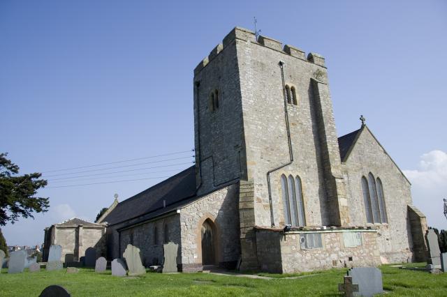 Church of St Mary, Rhuddlan, Denbighshire _MG_1429.jpg Photo © Martin Crampin, Imaging the Bible in Wales