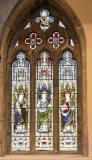 St Elbod, St David and St Cyndeyrn