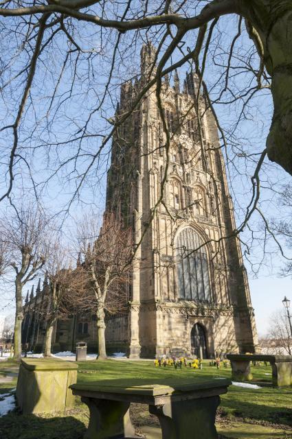 Church of St Giles, Wrexham Wrexham_DSC4685B.jpg Photo © Martin Crampin