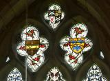 Heraldry: St Cynog, St Brychan and St Alud