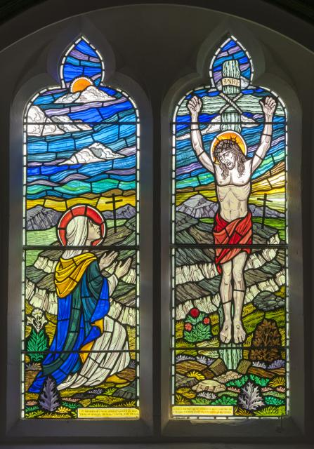 The Crucifixion with St Mary Magdalene