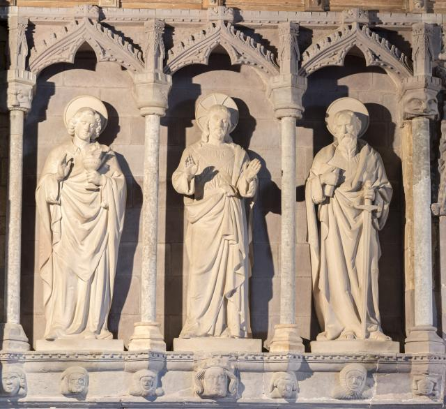 Christ with St John and St Paul
