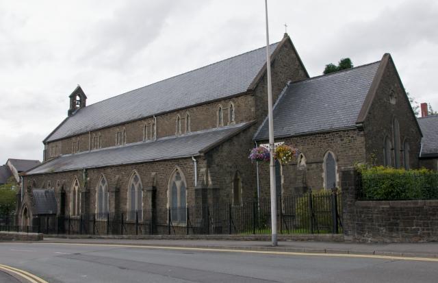 Church of St David, Merthyr Tydfil Merthyr_DSC7004A.jpg Photo © Martin Crampin