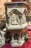 Pulpit with Scenes from the Bible