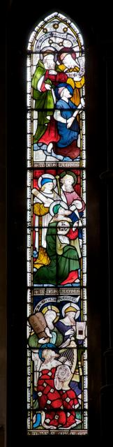 Prophets and Characters from the Old Testament    detail from    Te Deum