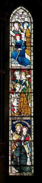 Saints    detail from    Te Deum