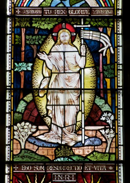 The Resurrection    detail from    Te Deum