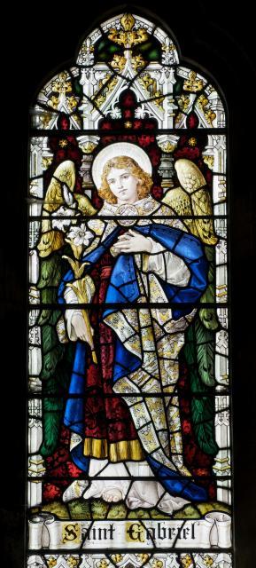 St Gabriel    detail from    Archangels