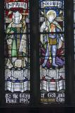 St Patrick and St George: Christ in Majesty with Saints and Prophets